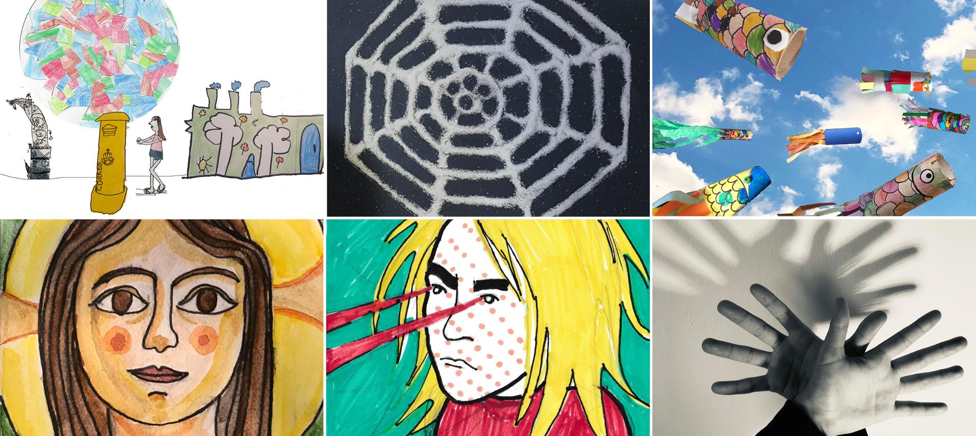 SOM i SÓC, vídeos recull de les feines d'Educació Visual i Plàstica durant el confinament