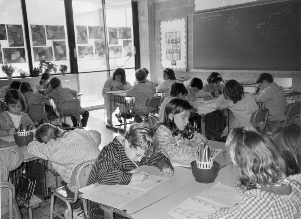 Història | Classe a l'escola